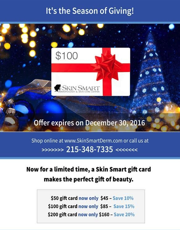 Skin Smart Gift Card Special