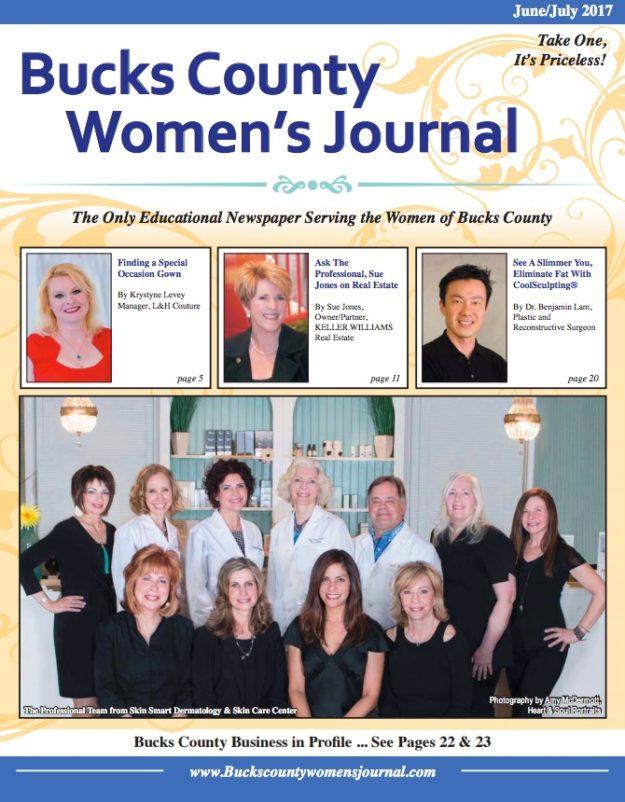 bucks county women's journal cover