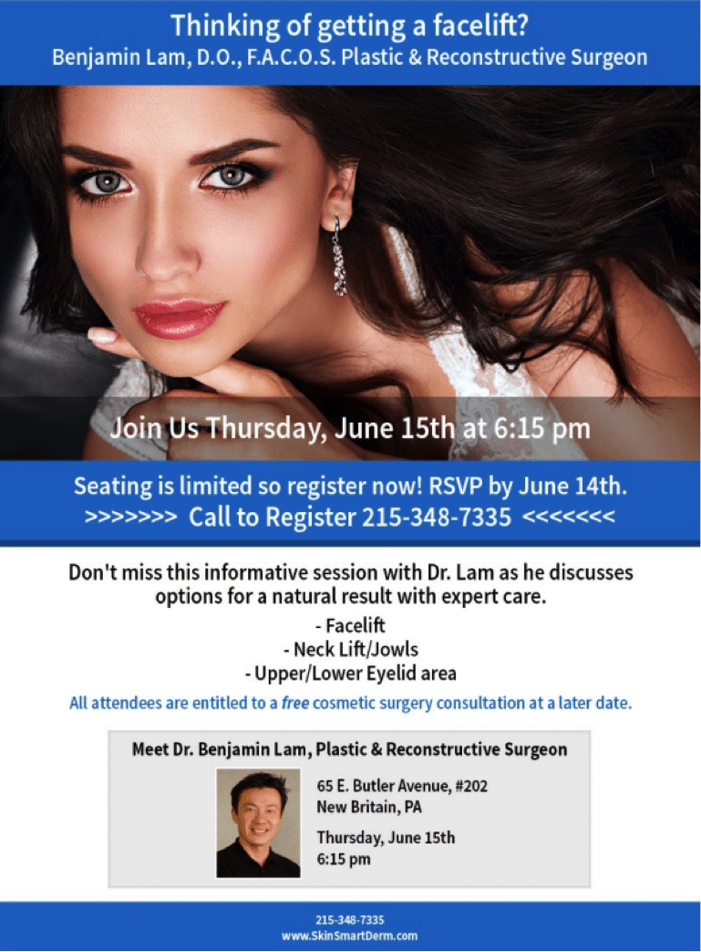 Check Out Our Cosmetic Surgery Info Session with Dr