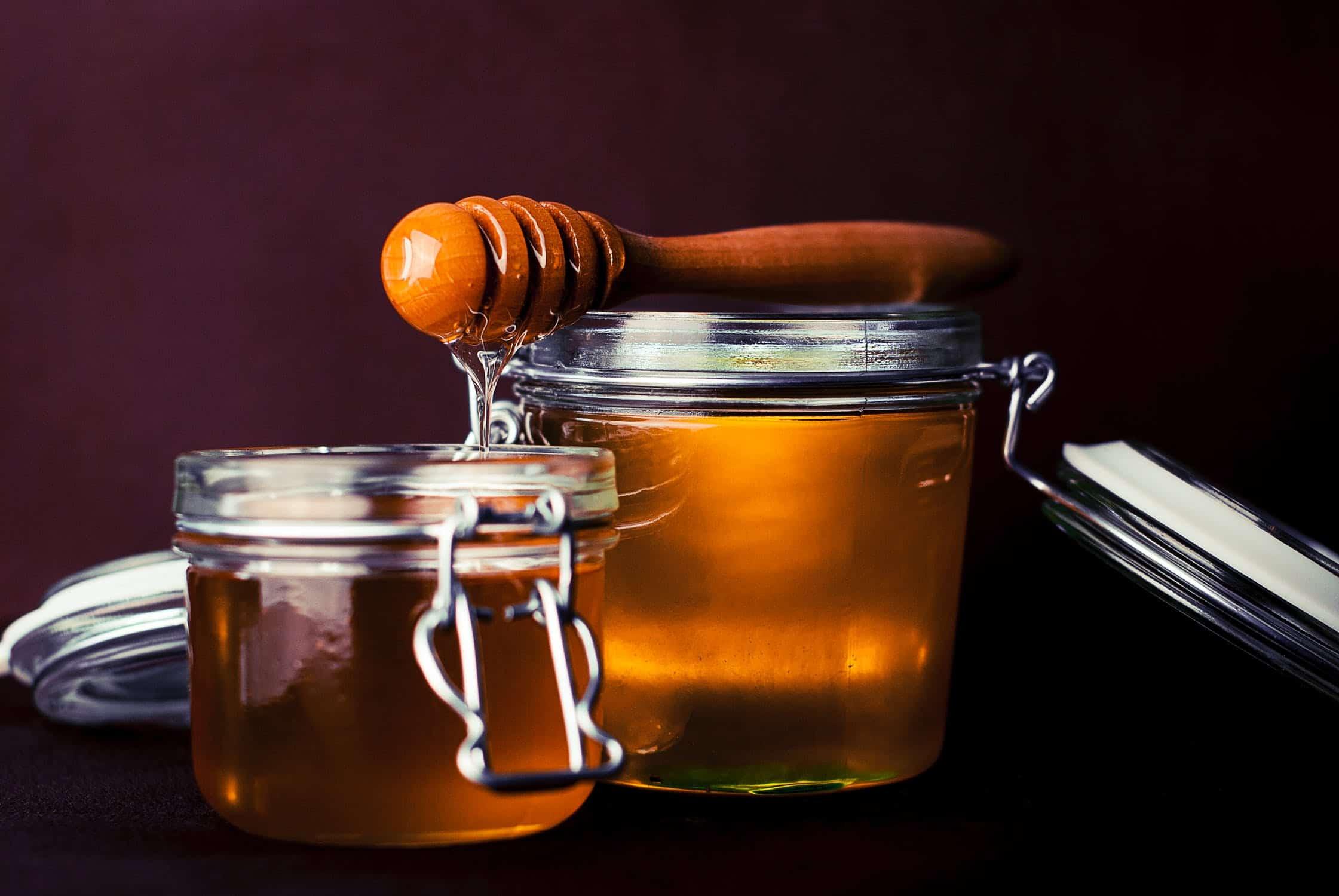 honey and sugar scrub